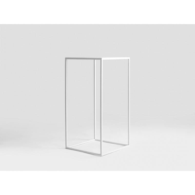 Coffee Table Tensio Metal 30 x 30 cm   White