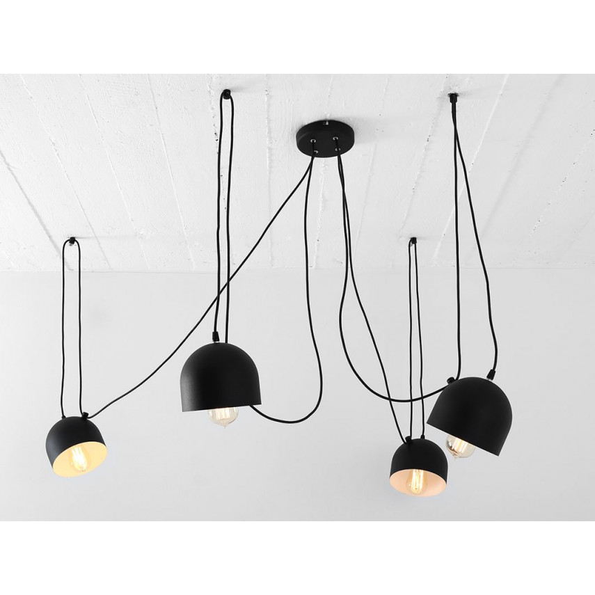 Pendant Lamp Popo 4 | Black