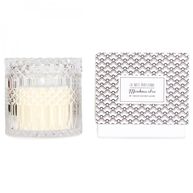 Bougie Parfumée Montmartre 'Note Parisienne' | Ananas Menthe
