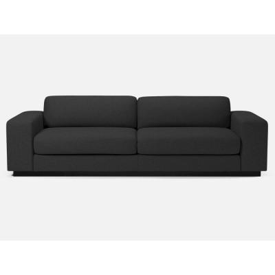 Sepia-Sofa 3-Sitzer