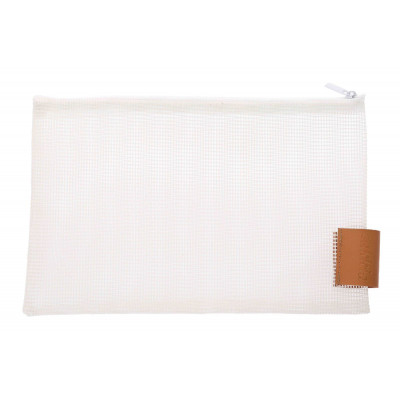 Travel Pouch Small   White