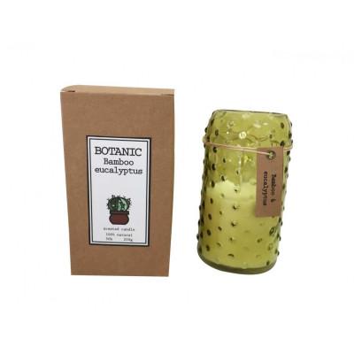 Botanische Duftkerze | Bambus & Eukalyptus