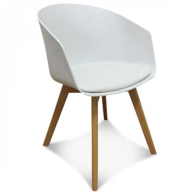 Scandi-Sessel | Weiß