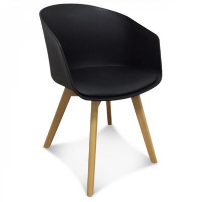 Scandi Armchair | Black