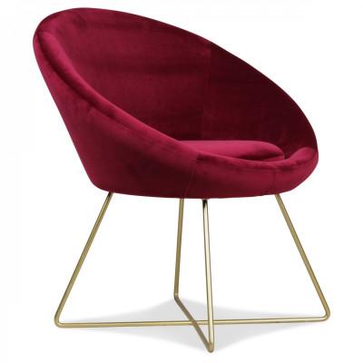 Hobby-Stuhl | Weinrot