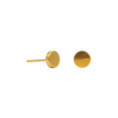 Ohrringe Round and Round   Gold