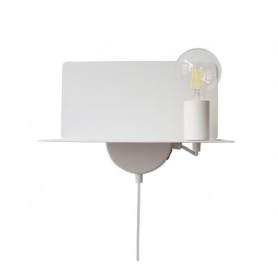 USB Wall Lamp Metal | White