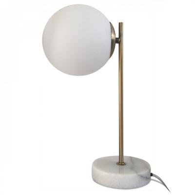 Tischlampe Bilou   Weiß