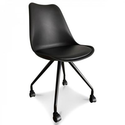 Scandi Chair Office | Black