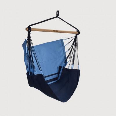 Hängematten-Stuhl Manaus | Blau