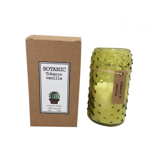 Botanische Duftkerze   Tabak und Vanille