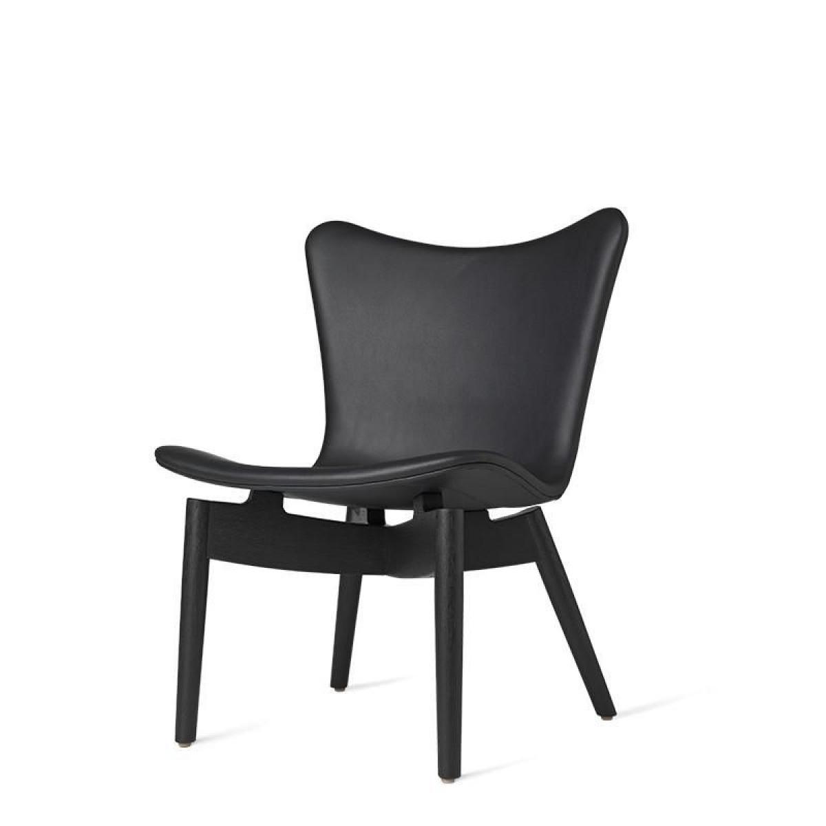 Shell Lounge Chair   Ultra Black