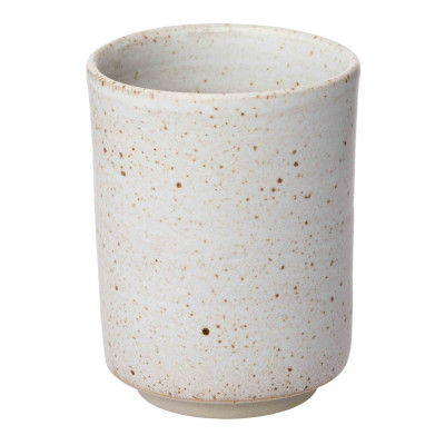 Speckle Oversize Tumbler | White