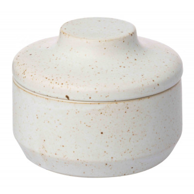 Speckle Container | White
