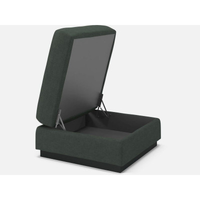 Sepia Footstool with Storage | Ø 70 cm