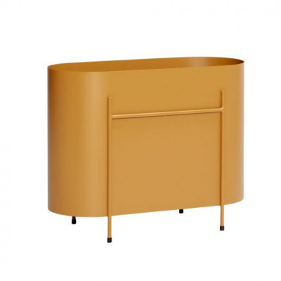 Pflanzgefäß Metal 60 cm | Orange