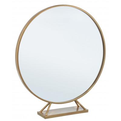 Spiegel mit Ständer Marilyn | Gold