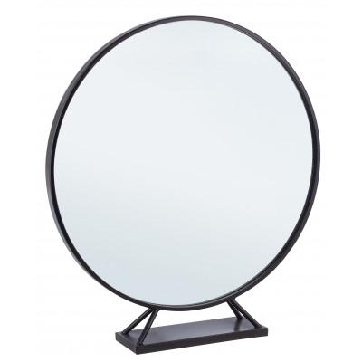 Spiegel mit Ständer Marilyn | Schwarz
