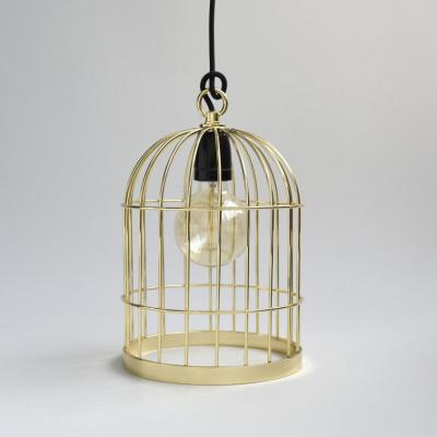 Vogelkäfig-Goldkabel Schwarz