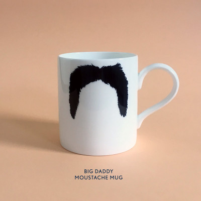 Becher Big Daddy Moustache Mug | The Fu Manchu