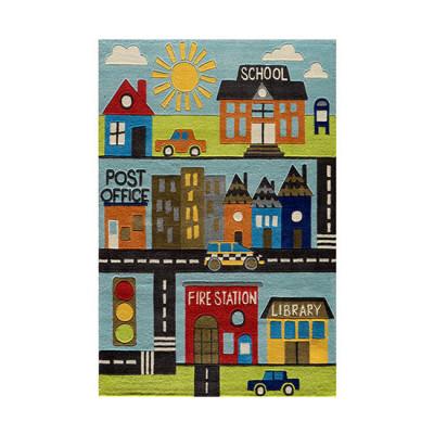 Teppich   Town Scene