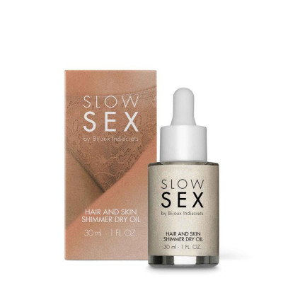 Haar und Schimmer Trockenes Öl Langsamer Sex