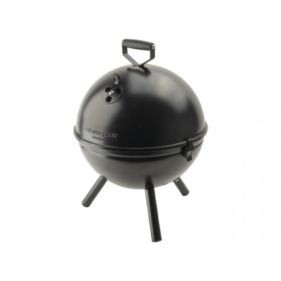 Holzkohle-Grillkugel ø 30,5 cm | Schwarz