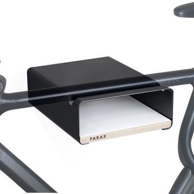 S-Rack Fahrrad-Wandhalterung M | Schwarz - Weiß