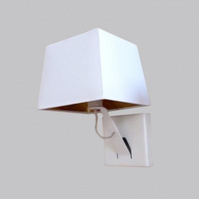 Wandlampe   Memory   Weiß