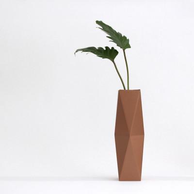 Gemütlich. Papier Vase Abdeckung Hoch | Kupfer