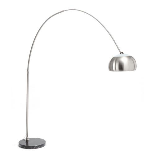 Arched Floor Lamp Demo | Grey