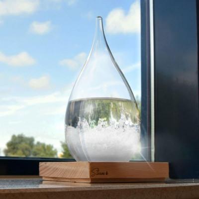 Sturmglas-Tropfen-Wettervorhersage