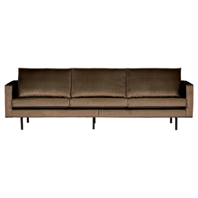 3 Seater Sofa Rodeo Velvet | Taupe