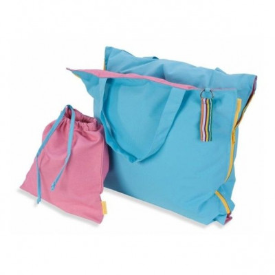 Pillowbag   Turquoise - Pink