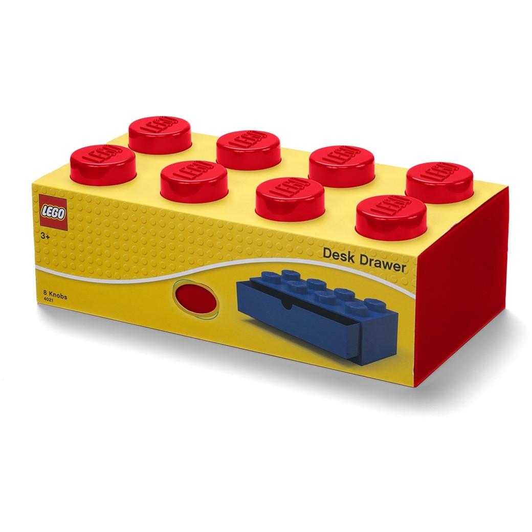 Aufbewahrungsstein Iconic / Schublade 8   Rot