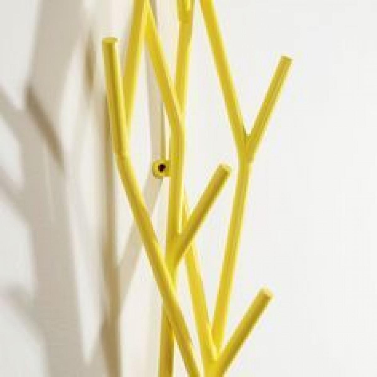 Wall Rack Latva | Yellow