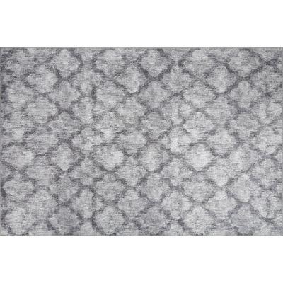 Carpet Dorian Chenille 75x150 cm I Grey AL 244