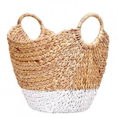 Water Hyacinth Basket | Rena