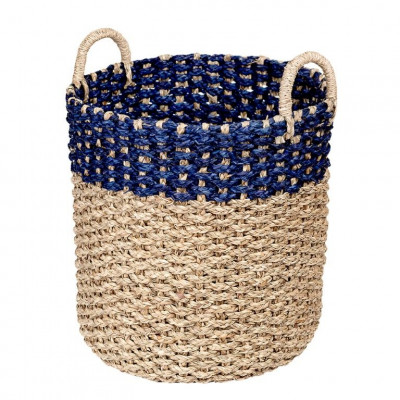 Seagrass Basket | Navy