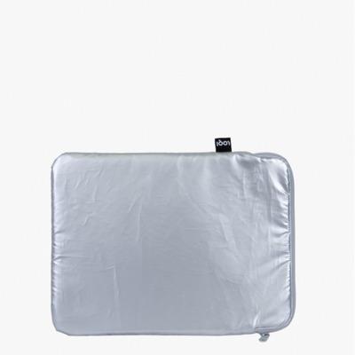 Laptop-Hülle Metallic   Silber