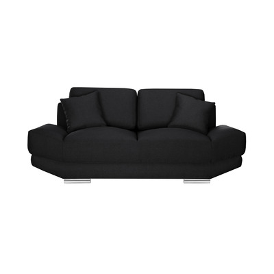 2-Sitzer-Sofa Kaya | Schwarz