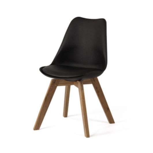 Scandinavia Chaise   Noir