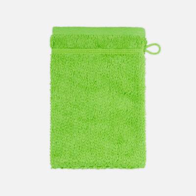 Waschhandschuh mit Perlenstruktur 6-teiliges Set | Limone