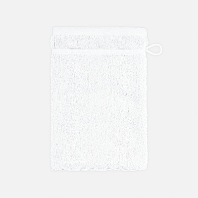 Waschhandschuh mit Perlenstruktur 6-teiliges Set | Schnee