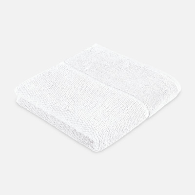 Handtuch mit Perlenstruktur 6-teiliges Set | Schnee