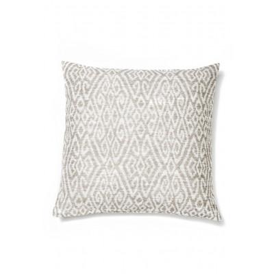 Kissen 50 x 50 cm | Weiß & Beige