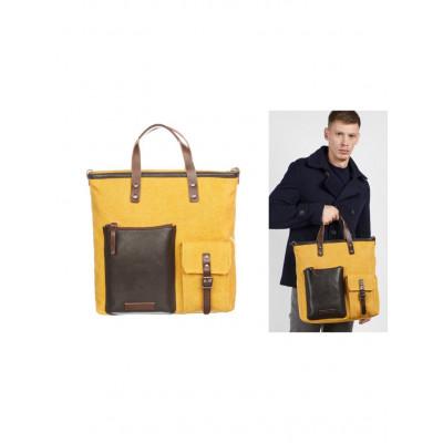 Messenger-Bag Männer | Braun Purpur