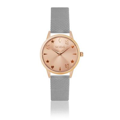 Uhr Frau Noemi I Rose Gold - Silber