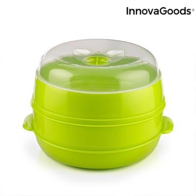 Fresh Microwave Double Steamer InnovaGoods