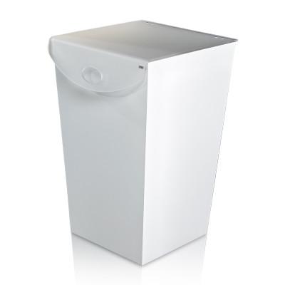 Satin Leinen Wäschekorb Laundry | Transparent